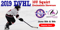 2019 DVHL 10U Squirt Evaluation Showcase