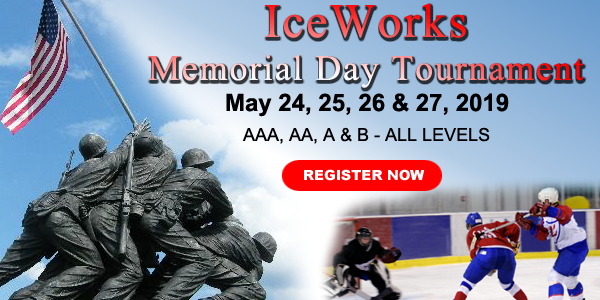 IceWorks Memorial Day Tournament 2019 @ Aston | Pennsylvania | United States