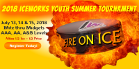 IceWorks Youth Summer Fire On Ice Tournament 2018
