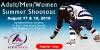 IceWorks Adult/Men/Women Summer Shootout 2019