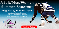 IceWorks Adult/Men/Women Summer Shootout 2019