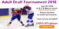 IceWorks Adult Draft Tournament 2018