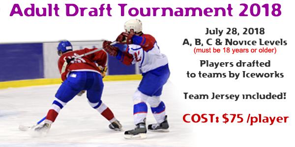 IceWorks Adult Draft Tournament 2018 @ Aston | Pennsylvania | United States