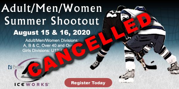 CANCELLED: IceWorks Adult/Men/Women Summer Shootout 2020 @ Aston | Pennsylvania | United States