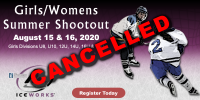 CANCELLED: IceWorks Girl's & Women's Summer Shootout 2020
