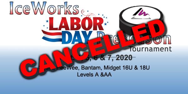 CANCELLED: IceWorks Labor Day Pre-Season Tournament 2020 @ Aston   Pennsylvania   United States