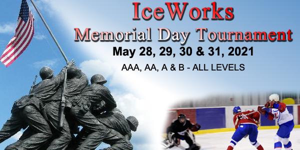 IceWorks Memorial Day Tournament 2021 @ Aston   Pennsylvania   United States