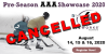 CANCELLED: IceWorks AAA Pre-Season Showcase 2020