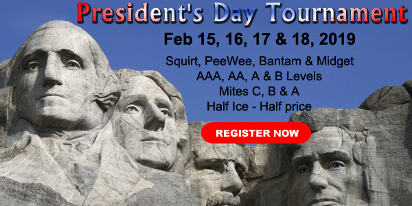 IceWorks Presidents Day Hockey Tournament 2019