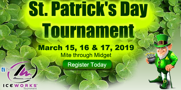 IceWorks St. Patricks Day Hockey Tournament 2019