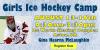 Girls Ice Hockey Camp with Coach Gina Kearns McLaughlin