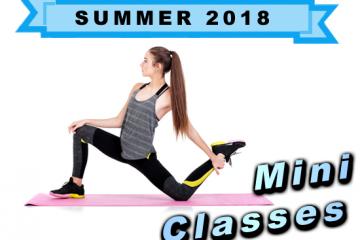 2018 Summer Mini Classes