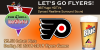 Flyers Game Day Special- $3.50 Labatt Pints