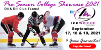 IceWorks Pre-Season College DII & DIII Club Showcase 2021