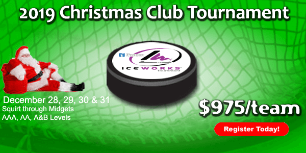 IceWorks Christmas Club Tournament