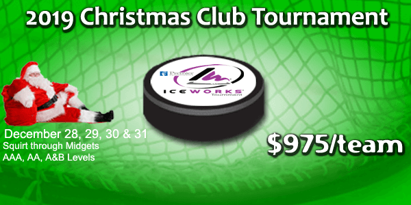 IceWorks Christmas Club Tournament 2019 @ Aston | Pennsylvania | United States