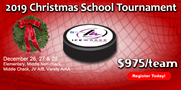 IceWorks Christmas School Tournament
