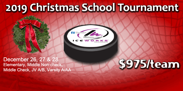 IceWorks Christmas School Tournament 2019 @ Aston | Pennsylvania | United States