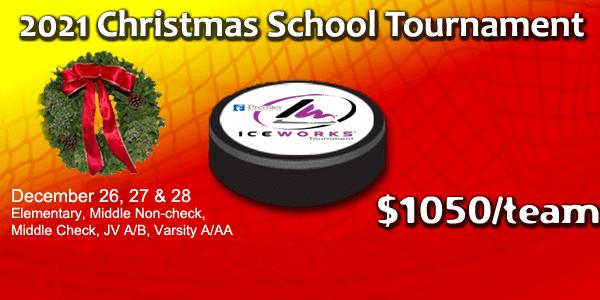 IceWorks Christmas School Tournament 2021 @ Aston | Pennsylvania | United States