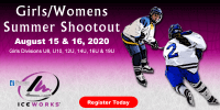IceWorks Girl's & Women's Summer Shootout 2020