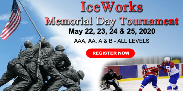 IceWorks Memorial Day Tournament 2020 @ Aston | Pennsylvania | United States