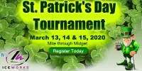 IceWorks St. Patrick's Day Tournament 2020