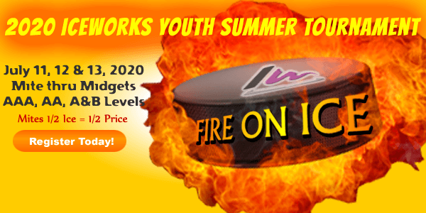 CANCELLED: IceWorks Youth Summer Fire On Ice Tournament 2020 @ Aston | Pennsylvania | United States