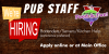 Job Opportunities – Pub & Grill – Bartenders/Servers/Kitchen