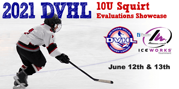 2021 DVHL 10U Squirt Evaluations Showcase @ Aston | Pennsylvania | United States