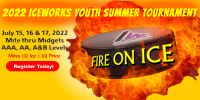 IceWorks Youth Summer Fire On Ice Tournament 2022