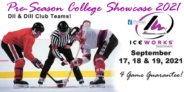 IceWorks Pre-Season College DII & DIII Club Showcase 2021 @ IceWorks Skating Complex | Aston | Pennsylvania | United States