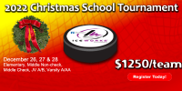 IceWorks Christmas School Tournament 2022