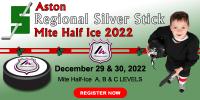 Mite Aston Regional Silver Stick Mite Half Ice 2022